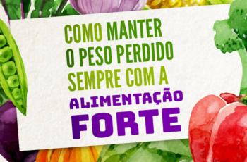 COMO MANTER O PESO PERDIDO SEMPRE!