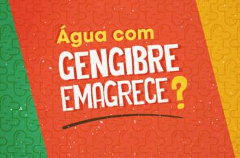ÁGUA COM GENGIBRE PARA EMAGRECER (E LIMÃO, ANIS, CANELA?)
