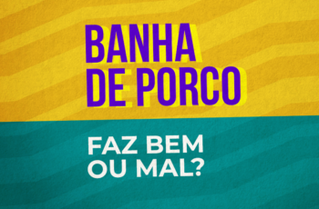 BANHA DE PORCO FAZ BEM OU MAL? (DESMASCARANDO!)