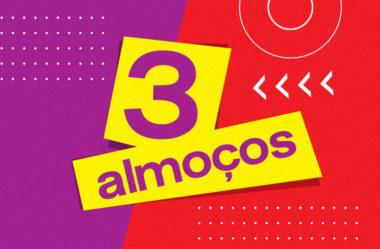 3 SUGESTÕES DE ALMOÇO PARA EMAGRECER | ALIMENTAÇÃO FORTE