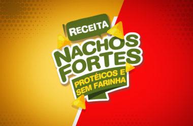 RECEITA DOS NACHOS FORTES | ZERO FARINHA, PROTÉICO, DELICIOSO
