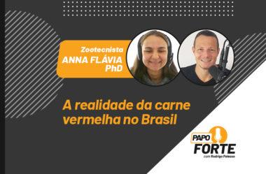 A REALIDADE DA CARNE VERMELHA NO BRASIL C/ ZOOTECNISTA ANNA FLÁVIA | PAPO FORTE #5