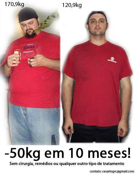 Caso De Sucesso – Cesar (50kg torrados!)