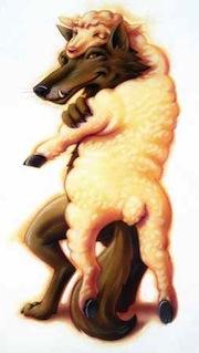 Lobo disfarçado de ovelha