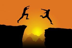 O salto da mudança