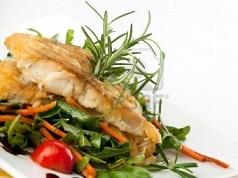 Peixe e Legumes