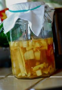 vinagre de abacaxi